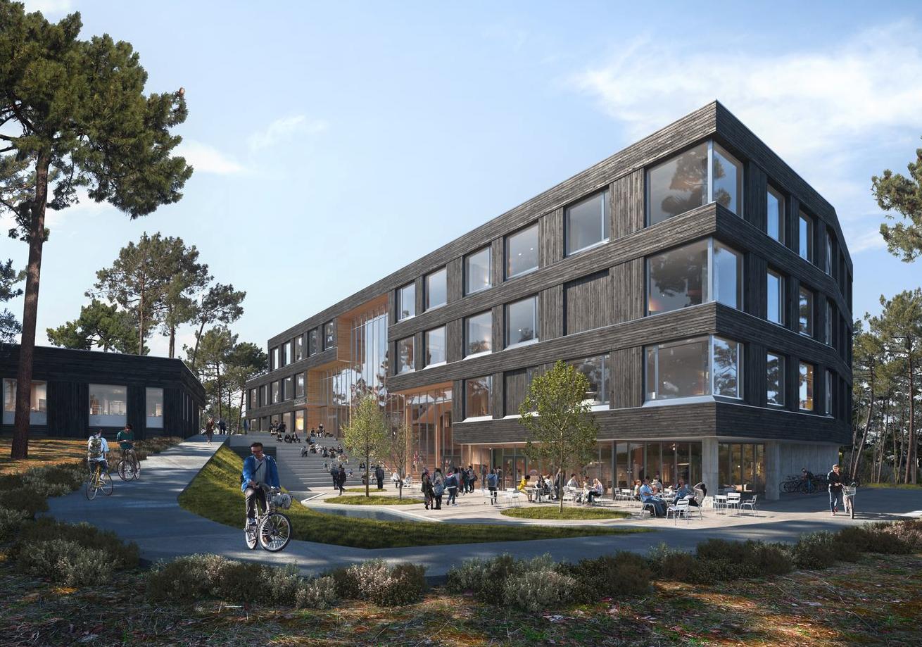 Fossilfri anleggsplass – Fagskolen i Grimstad